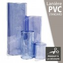 Lanière PVC souple transparente à la découpe au mètre