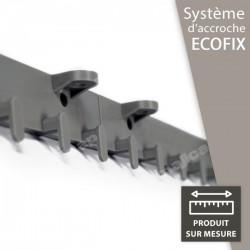 """Système d'accroche """"Ecofix"""" pour lanières PVC souple"""