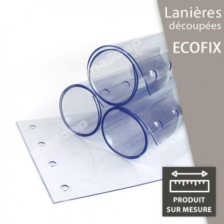 """Lanière découpée en PVC souple pour système """"Ecofix"""""""