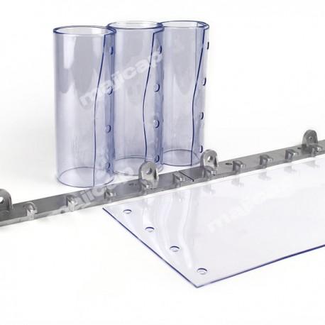 """Porte à lanières PVC transparentes """"Ecofix"""" pour engins"""