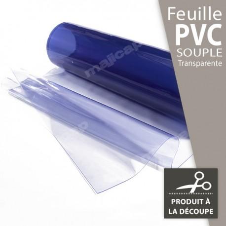 Feuille en PVC souple transparent à la découpe