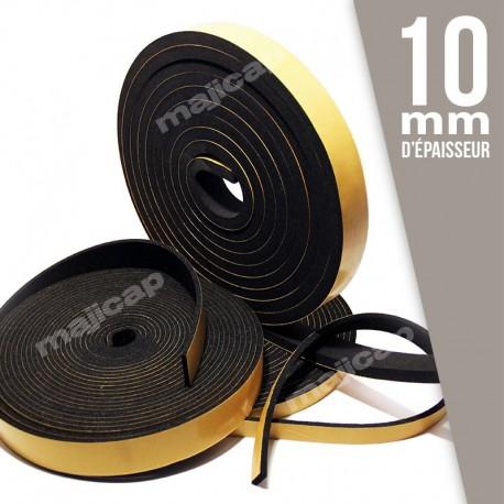 Bande mousse adhésive ép. 10 mm